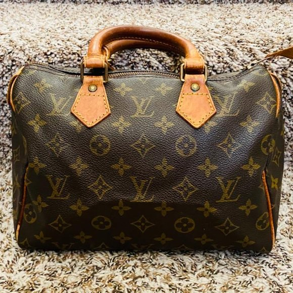 Louis Vuitton Handbags - Louis Vuitton Speedy 25 Monogram Handbag 11484